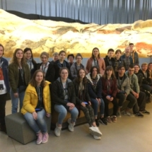 Students in Lascaux IV